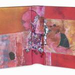 Between Reality & Utopia III38,5 x 25 cmMixed media on book cover