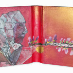 Between Reality & Utopia IV38,5 x 25 cmMixed media on book cover