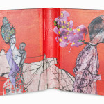 Between Reality & Utopia VII38,5 x 25 cmMixed media on book cover