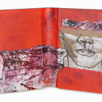 Between Reality & Utopia VIII38,5 x 25 cmMixed media on book cover