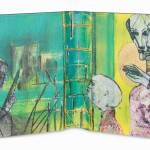 Ukraine43 x 25 cmMixed media on book cover